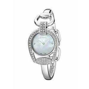 Rare Gucci Horsebit Collection Swiss Diamond Watch